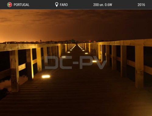 PASSADIÇO DE ACESSO PRAIA DE FARO (fornecimento de luminárias)